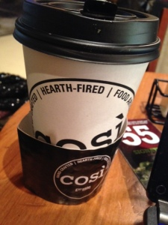 Vanilla Kiss Latte from Cosi