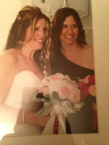 Me and my best friend for life at her wedding.