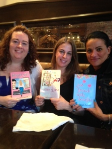 My friends supporting me and my books!