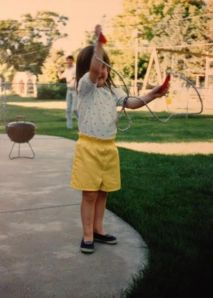 Me at age 3. I suppose figuring out my life isn't anything new.